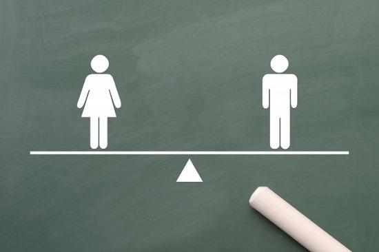 男性と女性の関係図