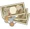 お金テーブル画像