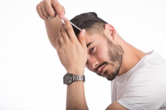 ウルフカット髪型画像
