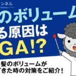 髪のボリュームが減る原因はAGA!?髪のボリュームが減ってきた時の対策をご紹介!