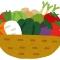野菜のテーブル画像